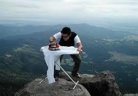 Extreme Ironing (Tumblr)