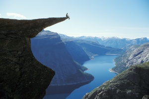 trolltunga-norway-sitting